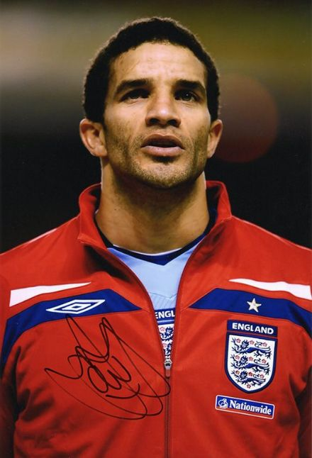 David James, England, signed 12x8 inch photo.